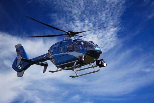 Rendőrség helikopterei