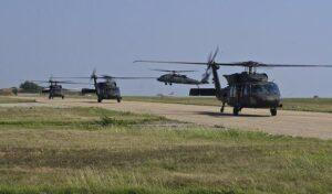 UH-60 Black Hawks helikoptertender