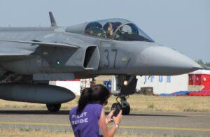 Gripen JTAC karbantartó hangár haderőreform