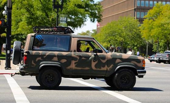 Katonai gépjárművek