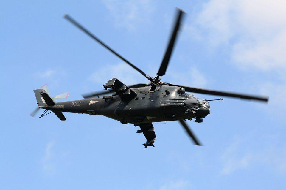 Szolnok helikopter