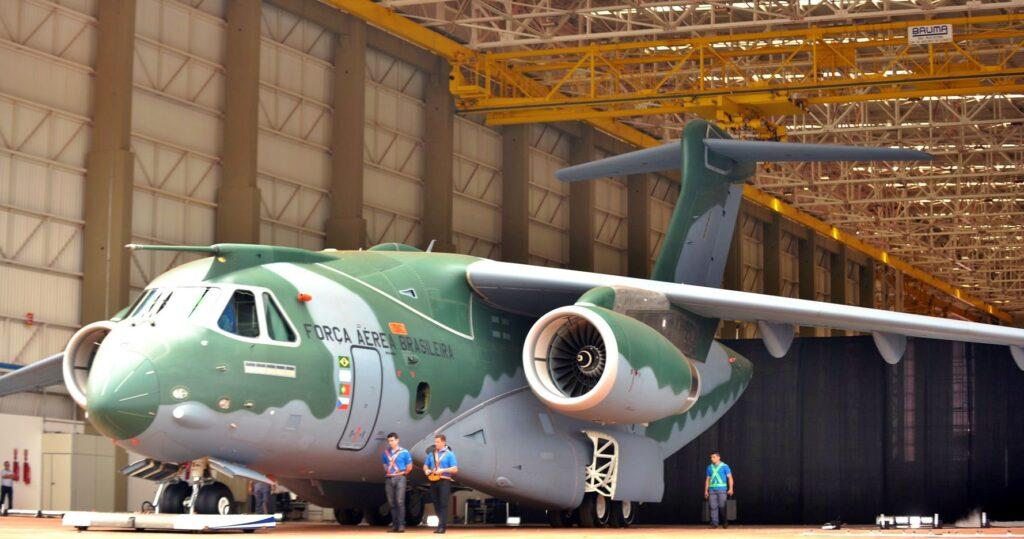 هنغاريا تتفاوض مع البرازيل لشراء طائرات Embraer KC-390  للنقل العسكري KC-390-1024x539