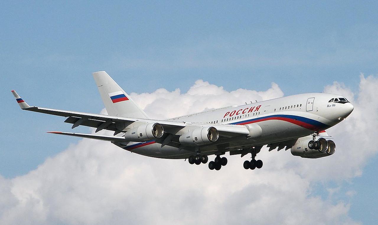 Putyin Il-96